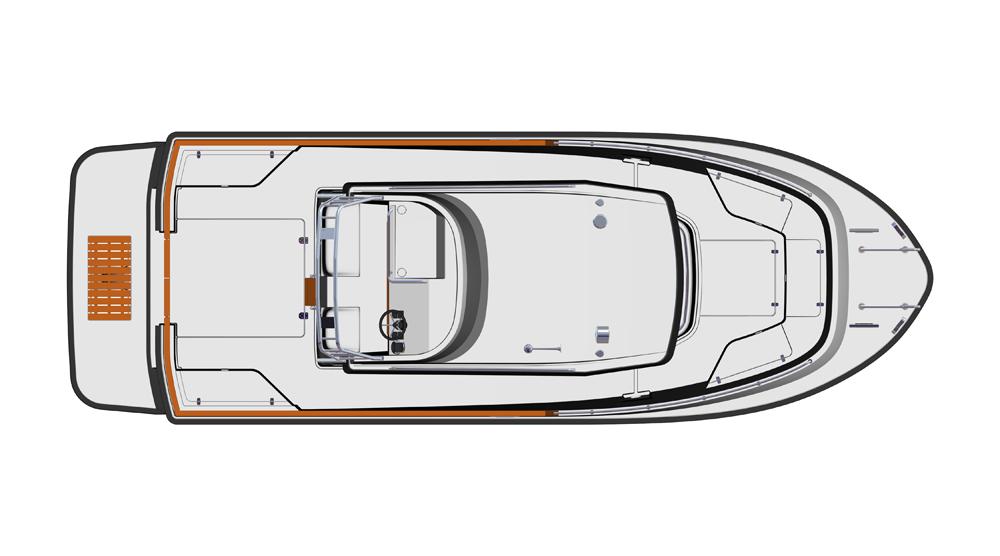 Targa 27.2 - top layout